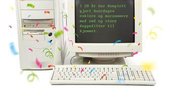 20 år med norsk netthandel!