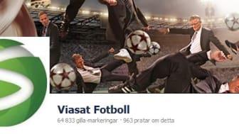 Stark ökning för Viasat i sociala medier