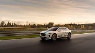 Jaguar I-PACE blir en racertaxi