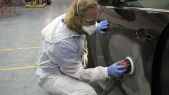 Så slipar du bäst din bilkaross innan lackering