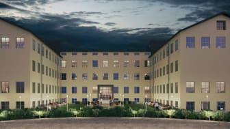 Pressinbjudan: Akademiska Hus inviger nya studentbostäder i Uppsala