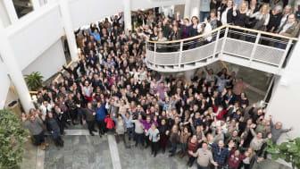 Omkring 300 personer från Region Skåne arbetar med SDV i dagsläget. Foto: Niklas Laurin, Region Skåne