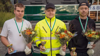 Prispallen kvaltävling till Yrkes-SM i Uppsala 15/9 2021