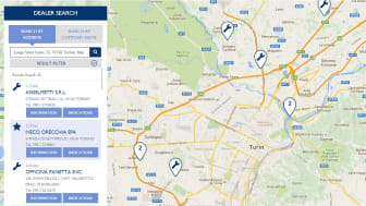 """Iveco findes over hele verden med den nye, forbedrede """"dealer locator"""""""