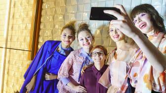 Sony e Katty Xiomara juntos na Moda