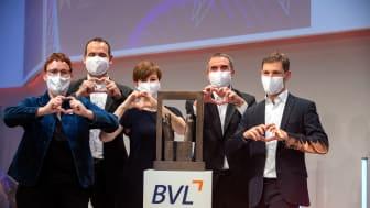 Anja Kircher, Eike-Niklas Jung, Katrin Stiemer, Christian Bodi, Dr. Michael Sternbeck (v.l.n.r.)