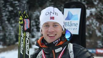 Tarjei Bø står over BMW IBU World Cup i Holmenkollen