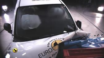 FIAT Panda Euro NCAP testing montage video Dec 2018
