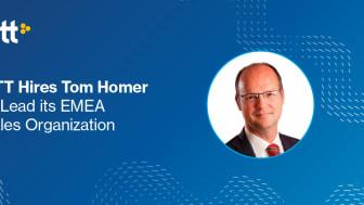 Tom Homer, SVP Europe, GTT