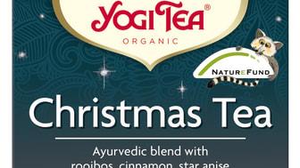 Yogi Tea Christmas 2015 poser økologisk