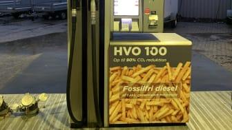 Nye HVO 100-standere hos Circle K Danmark