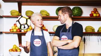 Mattias och Svea inspirerar till hälsosamma mellanmål