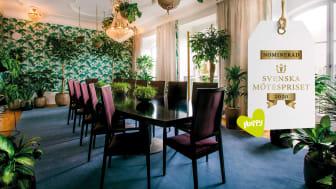 Nominerad till Svenska Mötespriset i kategorin Årets Mötesrum; The Jungle - en oas för stressfria möten skapad i samarbete med neurodesigner Isabelle Sjövall.