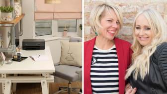 Interiørdesignduoen Secret Styling Club deler tips til hvordan du kan lage en personlig arbeidsplass hjemme.