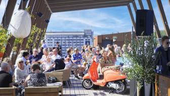 Sommaren på The Winery Hotel är en sommar för vinälskare.