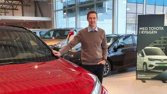 Ny leder: Toni Gjessing blir Daglig leder på Toyota forhandleren Nordvik på Sortland. Foto: Nordvik AS.