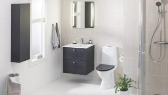 Tilava kylpyhuone on ihanteellinen jokaisessa elämänvaiheessa.