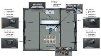 High res image - Kongsberg Digital - Fire layout