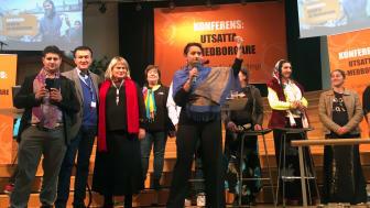 Deltagare från konferensen för utsatta EU-medborgare