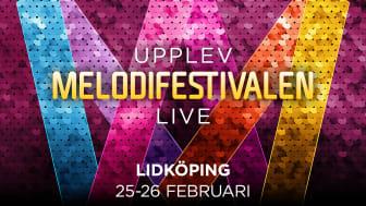 Lidköping värd för Melodifestivalens deltävling 4 den 25-26 februari 2022