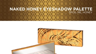 NAKED HONEY EYESHADOW PALETTE, SPOIL ME HONEY