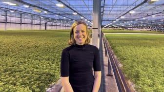 Katarina Henriksson, nyanställd produktutvecklare hos Svegro