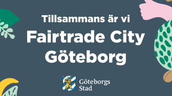 Fairtrade City Göteborg 18-29/10