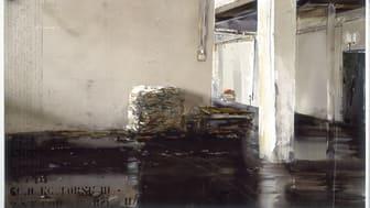 Lars Lerin, Fiskebruk /Fish Factory, 1995