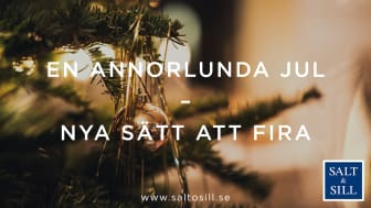 Salt & Sill tänker om och skapar en annorlunda jul