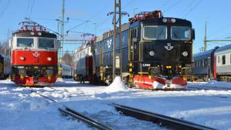 Järnvägsforskare i Luleå har fått patent på ett instrument som mäter slitage och friktion  (Tribometer) på järnvägar med hänsyn till bland annat snö och is på spåren. Foto: Luleå tekniska universitet