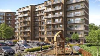 Nyproducerade bostäder i vackra Jakobsberg