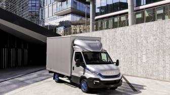 CO2-reduktionen ved at skifte fra diesel til biogas betyder groft sagt, at du kan fjerne næsten to dieselvarebiler fra CO2-regnskabet for hver eneste biogasvarebil, der lukkes ud på vejene.