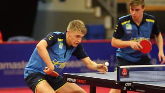 Anton Källberg och Truls Möregårdh under Swedish Open i Stockholm. Foto: Irek Kanabrodzki.
