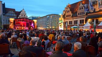 """Bachfest Leipzig - """"BACHmosphäre"""" auf dem Markt vor dem Alten Rathaus"""