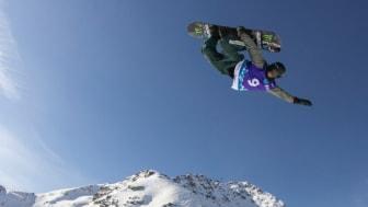 Sven Thorgren på världscupfinalen i Silvaplana, Schweiz. Foto: Chris Witwicki