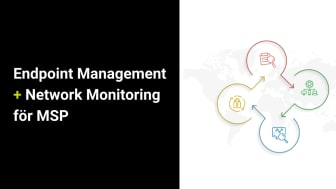 ManageEngine förenar Endpoint Management och Network Monitoring för MSP