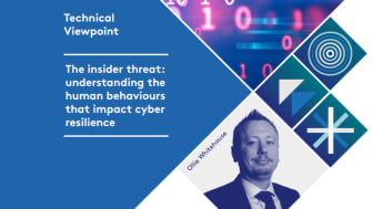 Ollie Whitehouse, Global CTO, NCC Group: Technical viewpoint: The Insider Threat