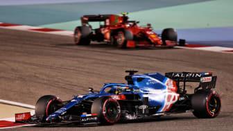 Ikke den bedste start for Alpine F1 teamet