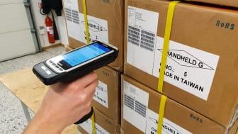 Effektiv och tillförlitlig streckkodsläsning på Handhelds huvudlager