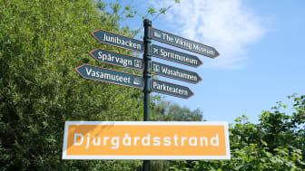 Invigning av Djurgårdsstrand 2021-06-03