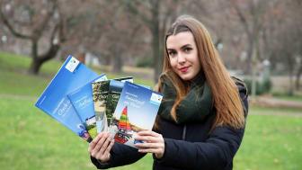 Die LTM GmbH wirbt mit neuen touristischen Broschüren bei der Grünen Woche in Berlin - Foto: Andreas Schmidt