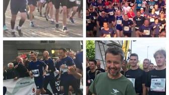 Sidste års folkefest Royal Run gentages - og også i år er det FødevareBanken, der modtager overskudsmaden.