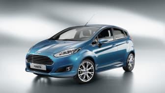 Nye Ford Fiesta vises for første gang i Amsterdam 6. september