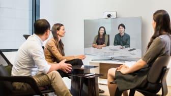Ny design, smarta funktioner och lägre pris på Cisco videokonferens