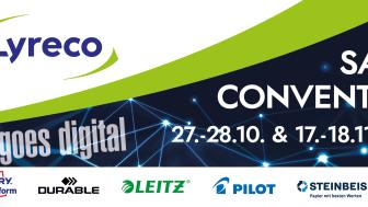 Lyreco Sales Convention goes digital