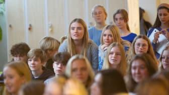 Elever på Carlssons skola, foto: Sebastian Bakai