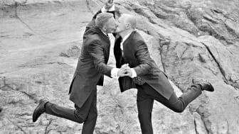 Checka in för drop in-vigsel hos Swedavia på Pride