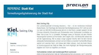 procilon Referenz Stadt Kiel Verwaltungsdigitalisierung
