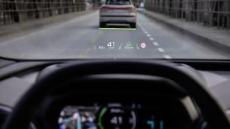 Audi Q4 e-tron augmented-reality-head-up-display
