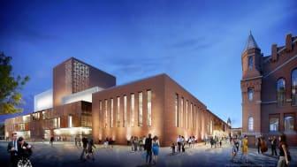STRABAG-Tochter ZÜBLIN erhält offiziellen Zuschlag für Bau eines Kultur-Quartiers in Dresden (Copyright: renderwerke)